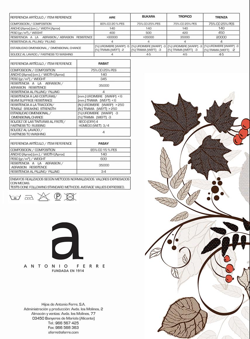 Catálago muestrario de telas, pag6