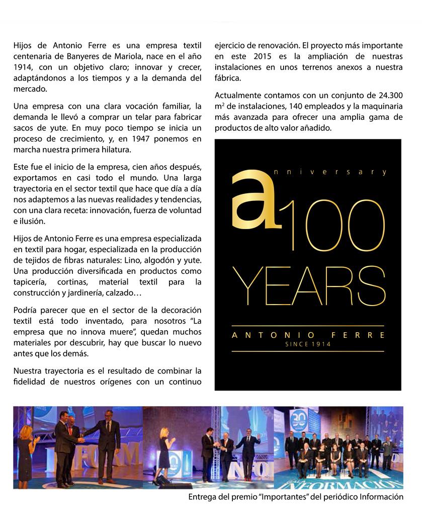 100 años, aniversario empresa,2