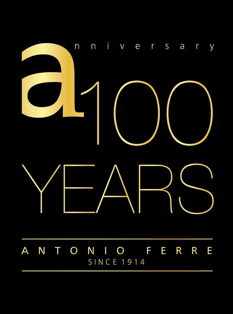 Logotipo aniversario Antonio Ferre